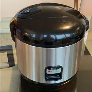 Elite platinum rice cooker